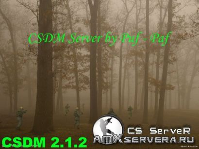 CSDM Server by Puf - Paf only Headshot